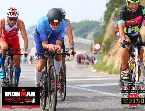 1 ste plaats van Trouvé Pascal in Ironman Barcelona en slot Hawaii 2018