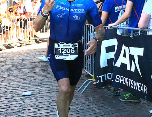 3de plaats  in agegroup 55-59 voor Benny Lyssens in Ironman Maastricht