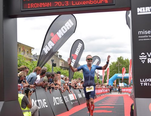 1 ste plaats Ironman Luxemburg 70.3  voor Trouvé Pascal
