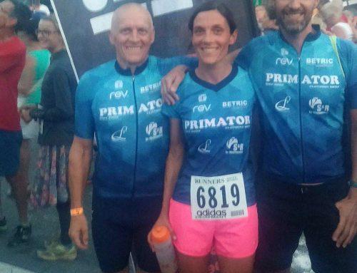 2e plaats op de 5 miles Beveren van Sarah De Prins