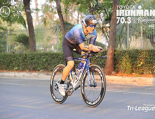 Benny wordt 6de in agegroep Ironman 70.3 Bangsaen Thailand